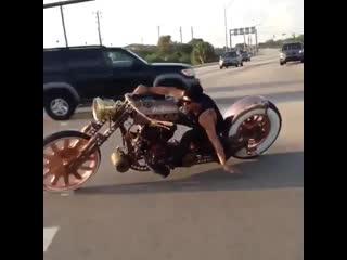 Punk style bike