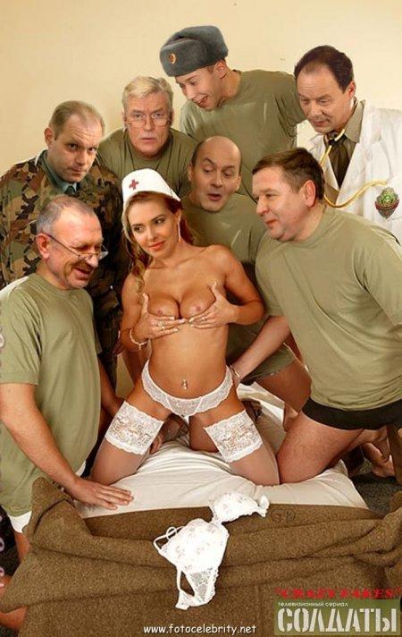 Фото голых актрис сериала солдаты - Классные фотки девушек.