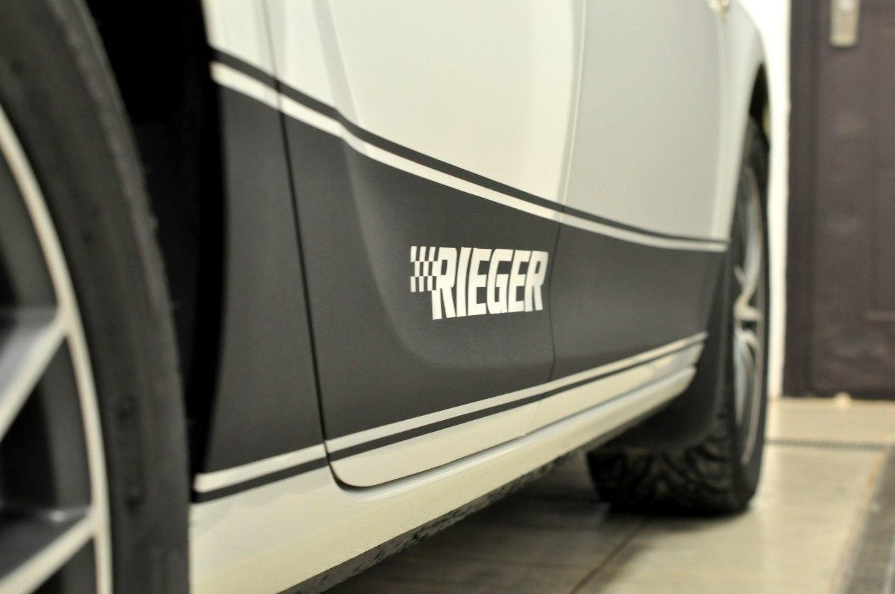 Opel Astra J спортивные полосы Rieger