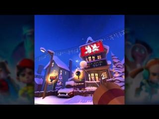 Снежки Merry Snowballs геймплей