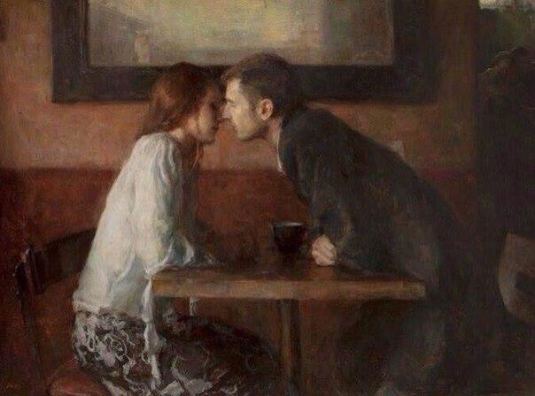 Любовь - это искусство.