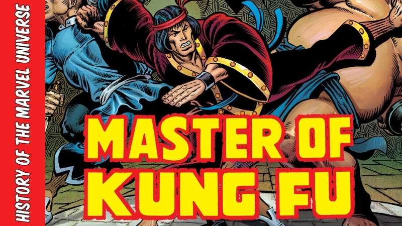 The Origin of Shang-Chi: The Master of Kung-Fu | History of the Marvel Universe