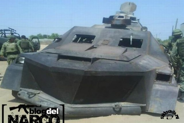 Транспорт мексиканских наркоторговцев