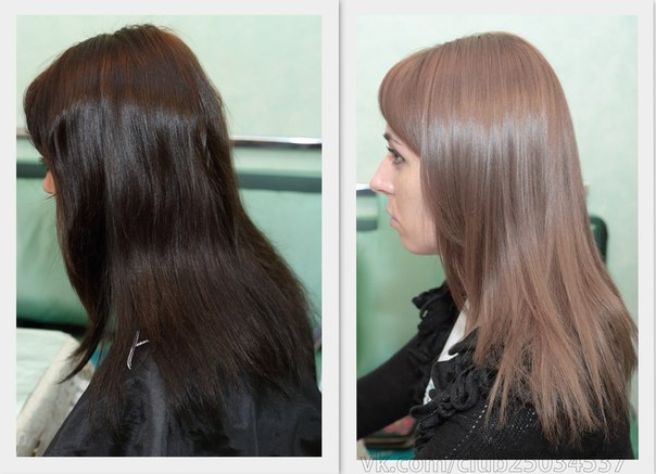 смывка черного цвета волос фото