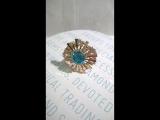 #кольцо. #золото 585, #топаз, #фианиты.
