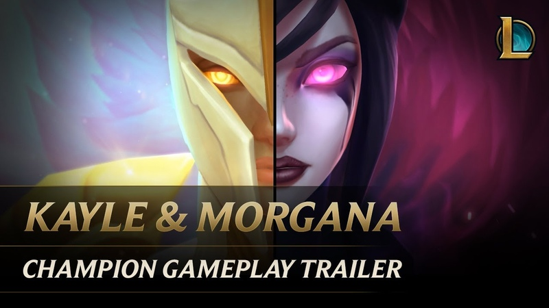 Kayle and Morgana The Righteous and the Fallen | Champion Gameplay Trailer - League of Legends