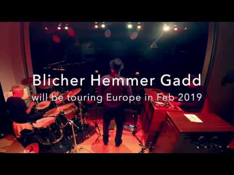 Blicher Hemmer Gadd live on tour 2019