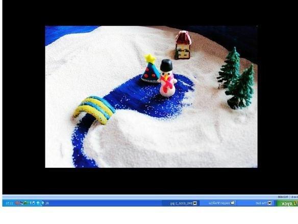 песочная терапия - зима