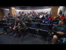 Watch: Davis and Olsen recognized during team meeting