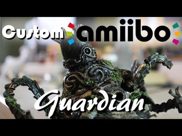 Покрас Amiibo Стража в его сокрушенную версию PixelCollie