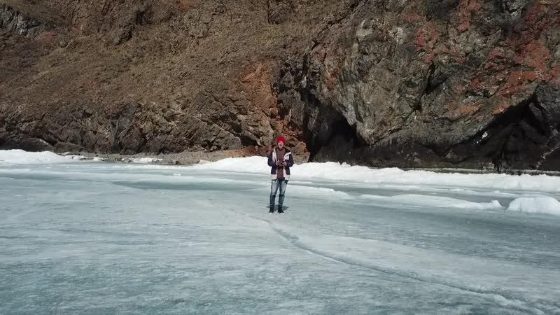 Baikal Ice Dronie Max Savchenko