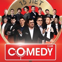 Логотип Comedy Club 15 лет в Ярославле
