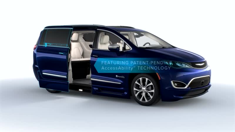 All New Chrysler Pacifica with BraunAbility Conversion