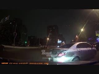 Лихач на Geely Emgrand 30.12.2018 Ростов-на-Дону Главный