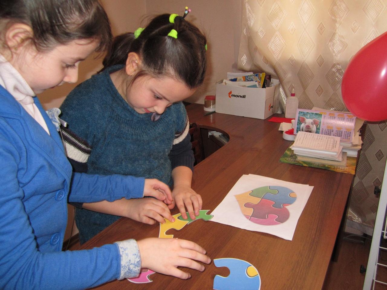 занятия с детьми,отдел искусств, день святого валентина, валентинки своими руками,донецкая республиканская библиотека для детей