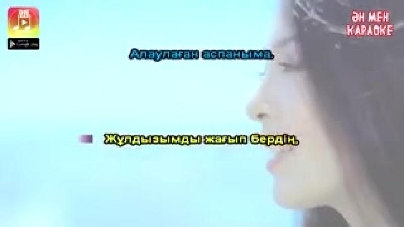Нұрлан Әлімжан - Ақ құсым КАРАОКЕ.240