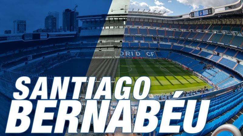 SANTIAGO BERNABÉU Years of history   Hala Madrid