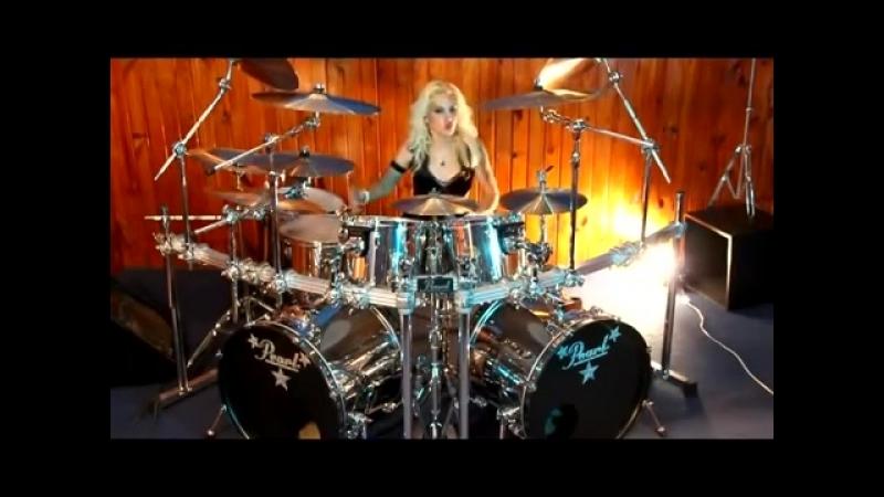 Jully Lee (Drummer Girl) COZY POWELL TRIBUTE- STARGAZER (RAINBOW) 2_3