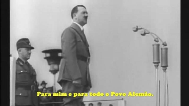 Adolf Hitler - Discurso aos 52 mil trabalhadores da Reichsarbeitsdienst (Triunfo da Vontade)