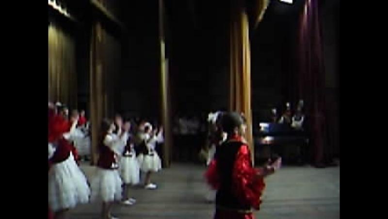 Казахский танец 4 класс