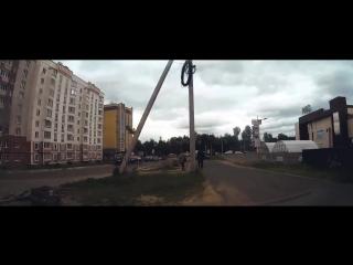 гиперлапс Нерехта-Кострома