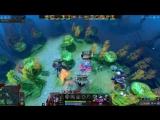 Miracle- SF vs Dendi Lina - EPIC Midlane Battle Dota 2 Allstars