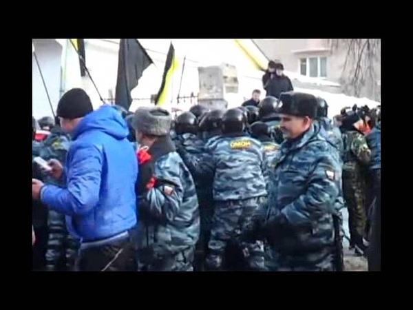 Митинг в Нижнем Новгороде Взбесившийся ОМОН