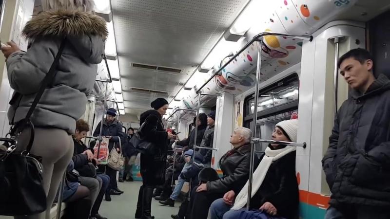 ПРАНК_ Фитоняшка в метро