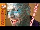 Enigma the Human Tattoo Serana Rose Eating Glass World of Weird