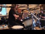 Dirk Verbeuren - Holy Wars play through @ Megadeth Bootcamp