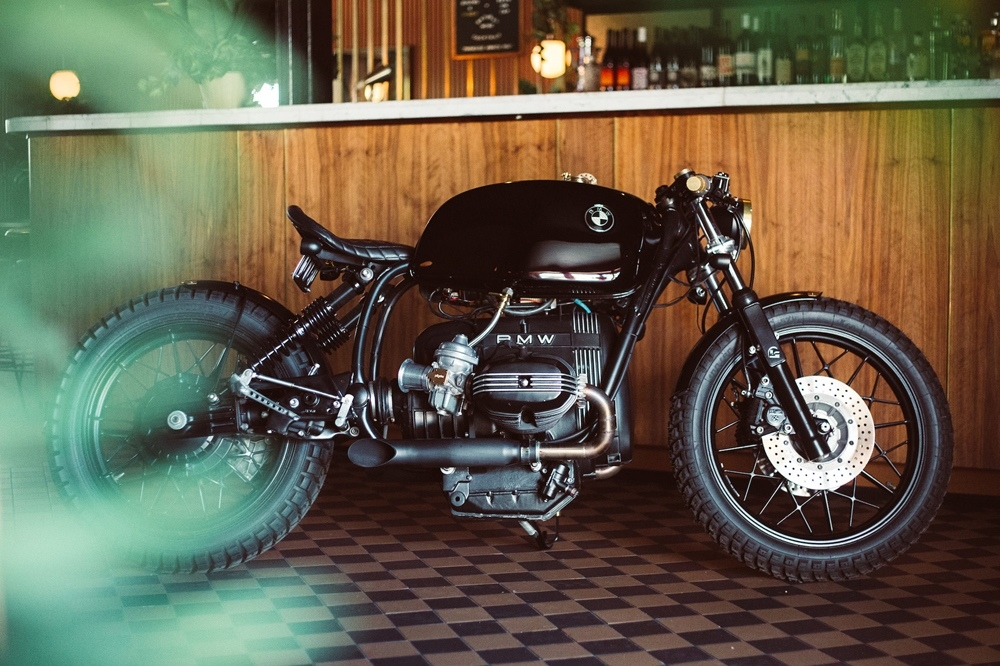 Rogue Motorcycles: кастом BMW R100RT