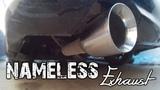 Nameless Exhaust Install - Subaru Legacy