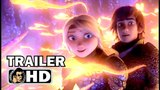 HOW TO TRAIN YOUR DRAGON 3 Official Trailer #1 (2018) Animated Movie HD