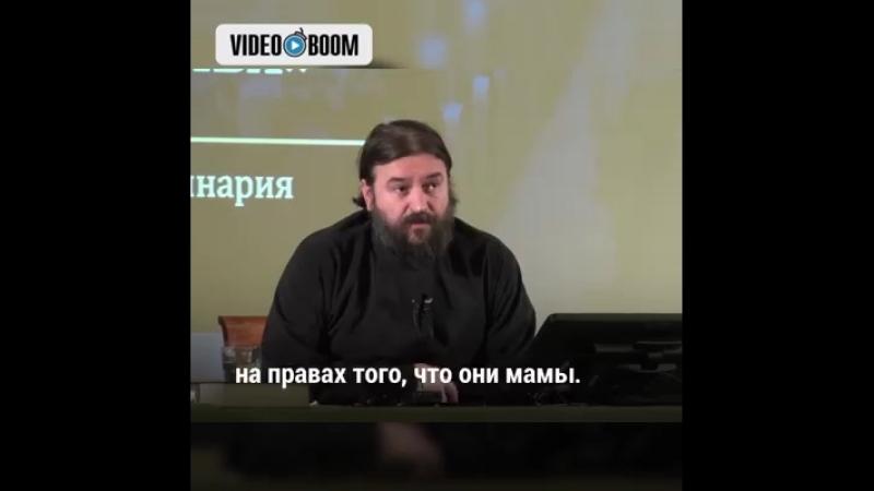 Протоиерей Андрей Ткачев, разъяснил какое место свекрови в новой семье