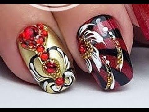 Нови, Модерни и Атрактивни идеи за маникюр✔ The Best New Nail Art Designs Ideas