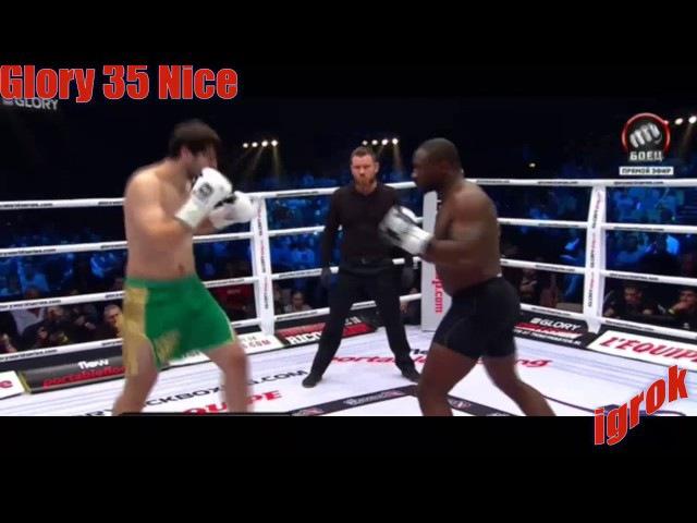 GLORY 35 Artem Vakhitov vs Zack Mwekassa full fight