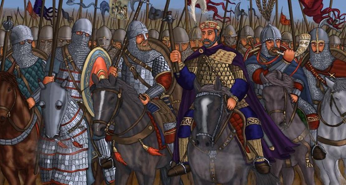 Полоцкие князья в походе