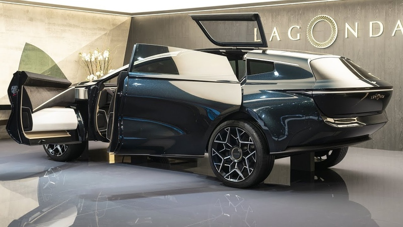 Lagonda All Terrain Concept - AWESOME THE FUTURE SUV!!