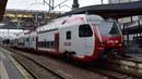 Les trains à dans la gare Luxembourg ~ Züge in Luxemburg