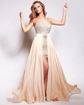 платье с подкладом без молнии