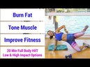 HIIT 63: 20 minute full body HIIT workout to burn fat, build muscle, increase fitness