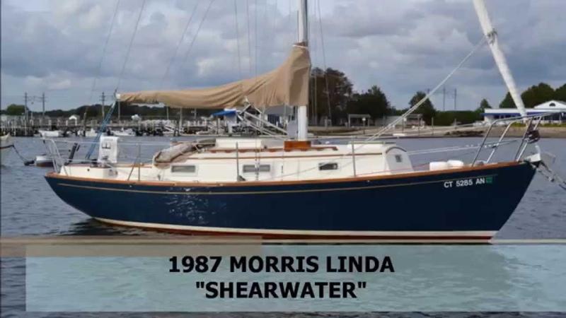SOLD 28 Morris Linda Shearwater 1987 East Coast Yacht Sales