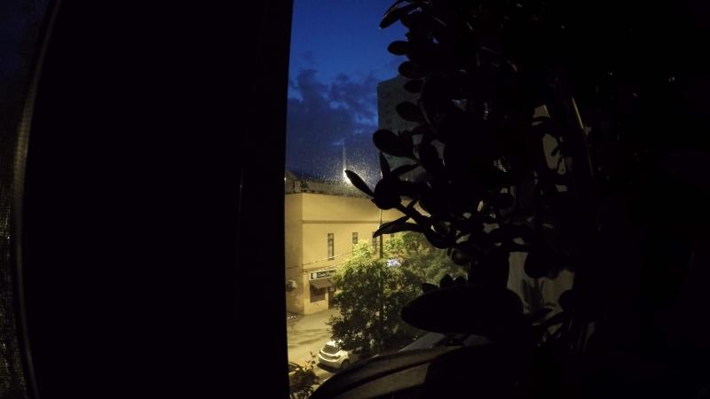 ночь.улица.фонарь.облака
