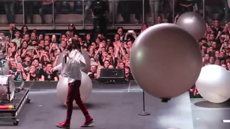 21 03 2018 This Is War Thirty Seconds To Mars Lotto Arena Антверпен Бельгия TheMonolithTour2018