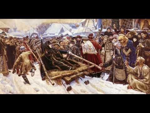 Описание картины Василия Ивановича Сурикова