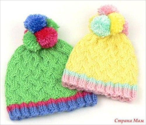 Детские шапочки (1 фото) - картинка