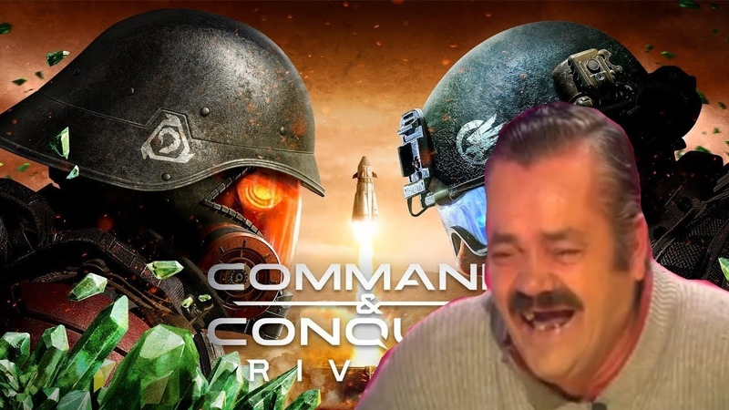 Risitas explains Command and Conquer Rivals situation (EA E3 2018)
