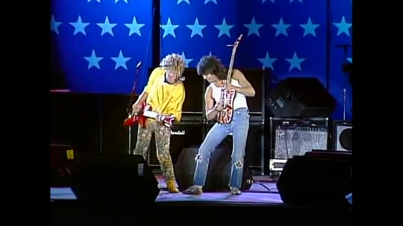 Sammy Hagar Eddie Van Halen - Rock and Roll (Live 1985)