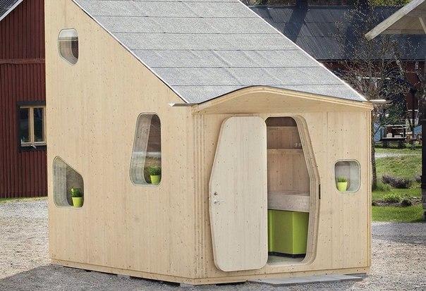 10-метровый дом для студента    ❤️