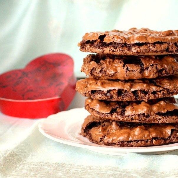Печенье шоколадно-ореховое без муки